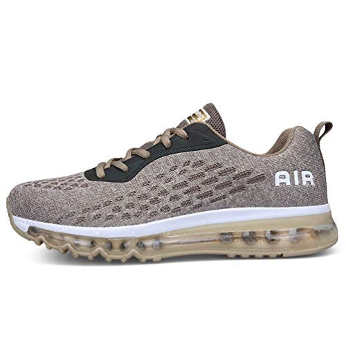 Axcone Homme Femme Air Baskets Chaussures Sport Outdoor Running Gym Fitness Sneakers Style Running Garcon Fille Multicolore Respirante -35EU-45EU