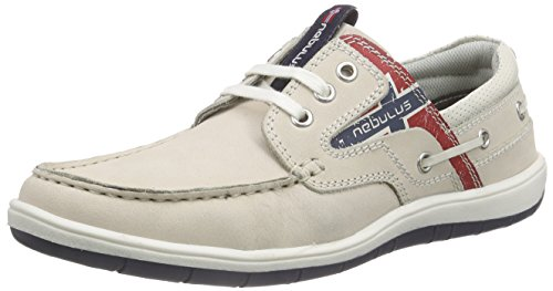 Nebulus Riva, Herren Sneakers, Beige (Off-White), 45 EU