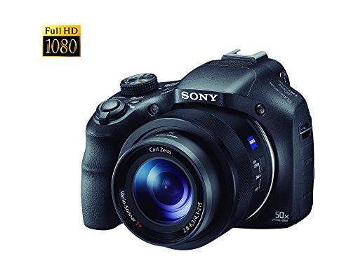 Sony Cámara Cybershot HX400 con zoom de largo alcance 50X óptico