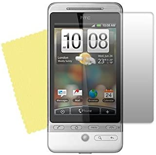 TECHGEAR **Paket med 3** - HTC HERO/HTC G3/Tmobile G2 Touch osynligt skärmskydd med rengöringsduk - Hi-TEC ESSENTIALS