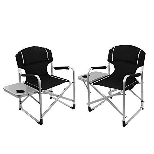 folding camp chair with table - 6
