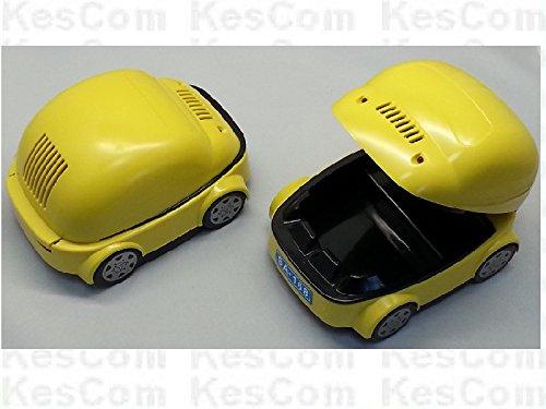 USB-asbak als auto met filter en heldere leds als koplamp, kies je kleur