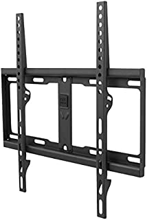 One For All TV Bracket – Fixed Wall Mount – Screen size 32-60 Inch - For All types of TVs (LED LCD Plasma) – Max Weight 1000kgs – VESA 200x200 to 400x400 - Free Toolbox app – Black – WM4411