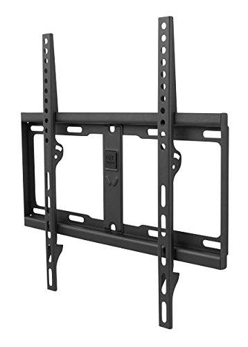 One For All WM4411 Supporto da Parete per TV - Montaggio a Muro Fisso - Dimensioni Schermo 32-60 pollici - Per Tutti i Tipi di TV – Massimo Peso 100kg - Nero