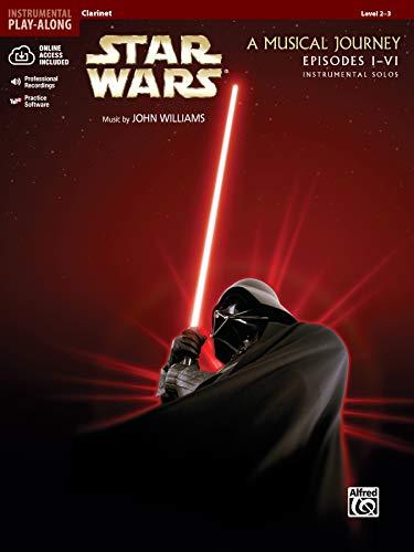 Star Wars Instrumental Solos (Movies I-VI): Clarinet, Book & Online Audio Software (Pop Instrumental Solos Series)