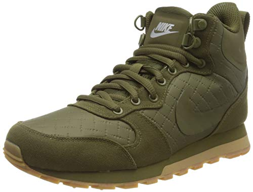 Nike Damen MD Runner 2 Mid Premium Hohe Sneaker, Grün (Olive Canvas/Olive Canvas 300), 40 EU