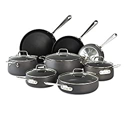 All Clad Anodized induction cookware set