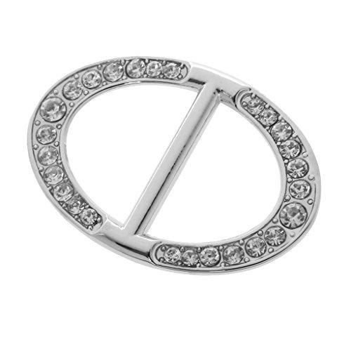 Damen Schmuck, Tuchclip, Tuchspange, Trachtenspange, Schalclip, Trachtenbrosche Geschenk - Silber 5