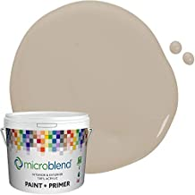 Microblend Exterior Paint and Primer - Taupe/Italian Marble, Sample, Custom Made, Premium Quality, One Coat Hide, Low VOC, Washable, Microblend Browns Family