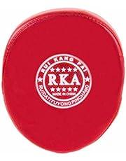 Almohadilla de entrenamiento para boxeo Sodial ®, ideal para boxeo, karate, Muay Thai, kickboxing, en color rojo