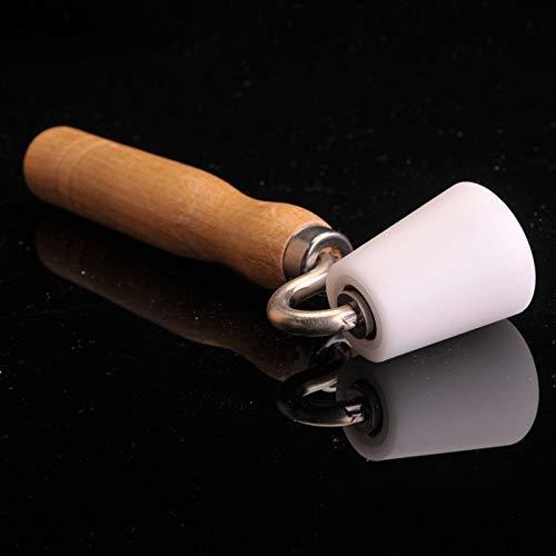 JCMY DIY-Werkzeuge Flach Roller-Qualitäts-Holzflach Roller Tapete Handbuch DIY Werkzeug Platen Rollenlager for Tapezierarbeiten Für Dekoration