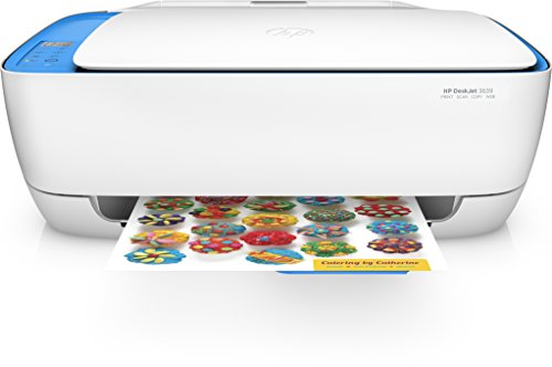 HP DeskJet 3639 All-in-One Printer - Multifonctions (A Jet d'encre Thermique, 4800 x 1200 DPI, 60 Feuilles,...