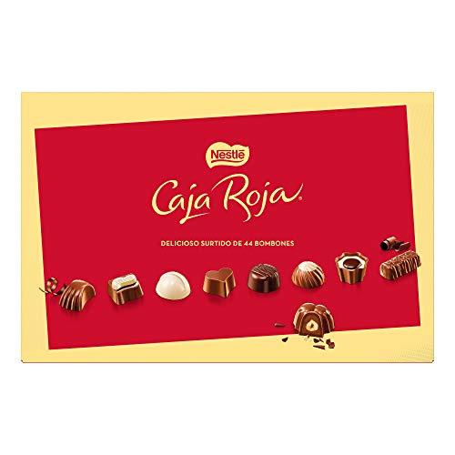 Nestlé Caja Roja Bombones de Chocolate - Estuche de bombones 400 gr