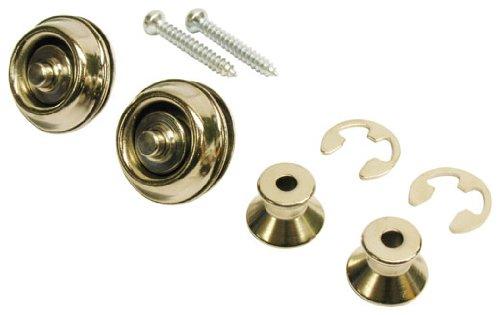 Jim Dunlop straplock Dual Design–Juego de níquel