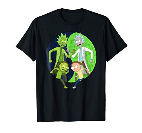 Mademark x Rick and Morty - Rick and Morty vs. Toxic Rick and Morty T-Shirt