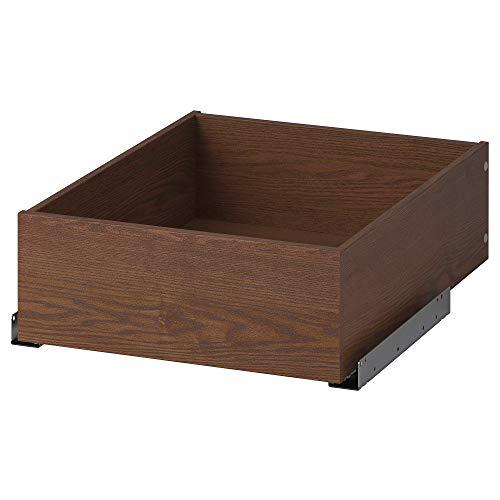 Cajón KOMPLEMENT 50x58 cm efecto ceniza teñido marrón