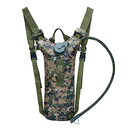 Mochila CMZ Mochila para Montar al Hombro Mochila Deportiva para Hombres y Mujeres al Aire Libre Mochila Liner Field Tactical Water Bag