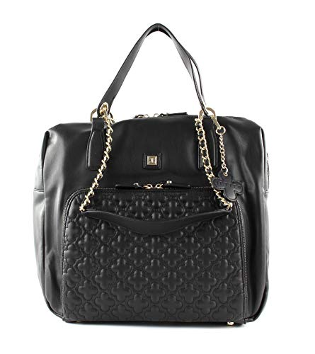 Jette Shopper Step Nylon schwarz Schultertasche Tasche Damen 35x29cm
