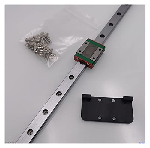 XUNLAN durable X Axis Guide Linear Rail Hiwin MGN12C Fit For Tronxy X5s Wearable (Color : 500x500mm size, Size : Hiwin linear rail)