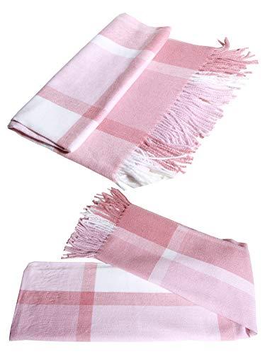 Vestido de lana de cachemira clásico de lujo para invierno suave y cálido, regalo especial para cualquier estación.