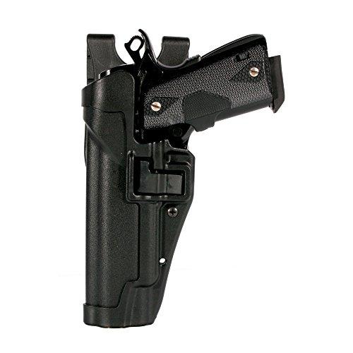 BLACKHAWK Serpa Level 2 Duty Holster For Glock 17 Left Hand Black