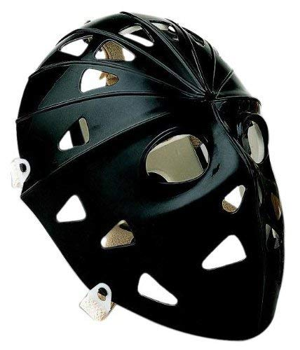 Mylec Pro Goalie Mask, Black , Medium