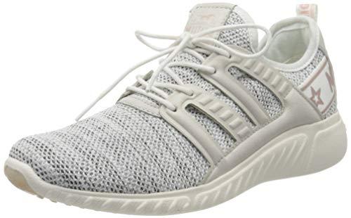MUSTANG Unisex-Kinder 5054-306-244 Sneaker, Elfenbein (Ice/Rose 244), 33 EU
