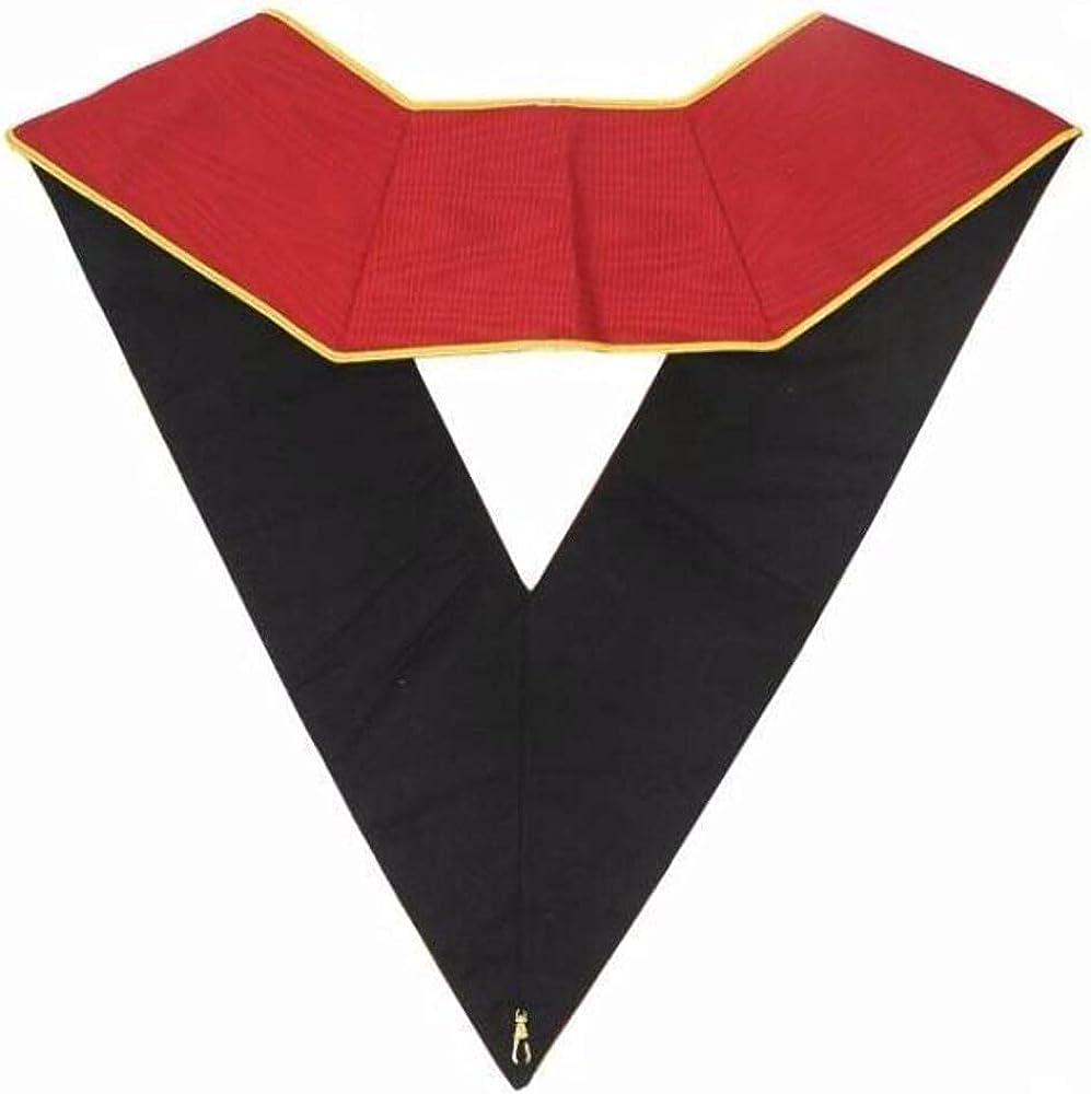 Masonic AASR collar 18th degree - Knight Rose Croix - Ouroboros + Latin Cross