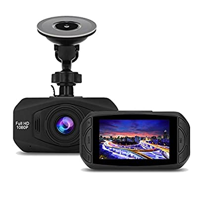 Car Camera DVR 170° Wide-Angle Lens Shooting HD 1080P Driving Recorder 30FPS by GHL
