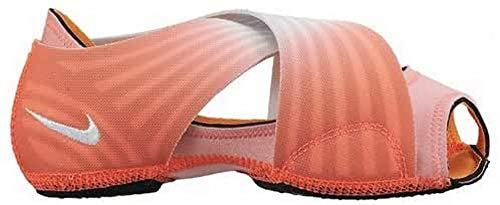 Nike Femme WMNS Studio Wrap 3 PRT Yoga Chaussures, Lava Glow/Pure Platinum/Blanc, XS