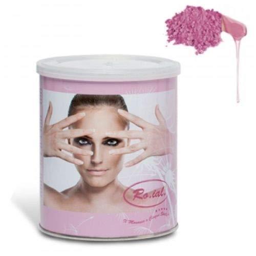 Ro.ial Dosenwachs Titanium Rosa für die Haarentfernung - empfindliche Haut -...