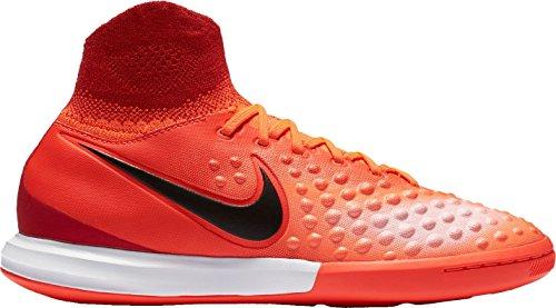 Nike Unisex-Kinder Jr Magistax Proximo Ii Df Ic Fußballschuhe, Orange (Total Crimson/University Red/Atomic Pink/Black), 36 EU