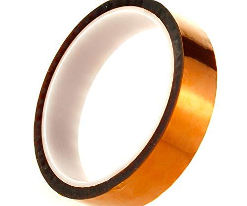 Hochtemperatur-hitzebeständiges Abdeckband, Polyimid, Kapton-Klebeband, Isolierband zum Schutz von SMD- oder BGA-Chips, 20 mm x 33 m