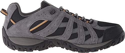Columbia Men's Redmond Waterproof Low Hiking Shoe, Advanced Traction Technology