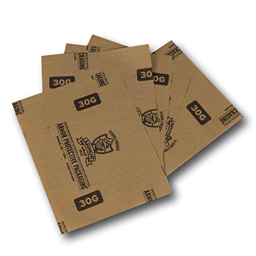 Armor schützende Verpackung a30g0606VCI Papier verhindert Rost, Korrosion auf Eisen und NE-Metall, 15,2x 15,2cm Tabelle (1000Stück)