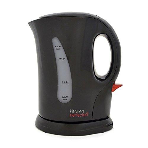 KitchenPerfected Bouilloire sans fil Noir 1,1 kW 1 l