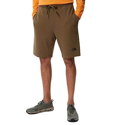 The North Face Men's Graphic Short Light Pantaloncini Casual, M. Olive, L Uomo