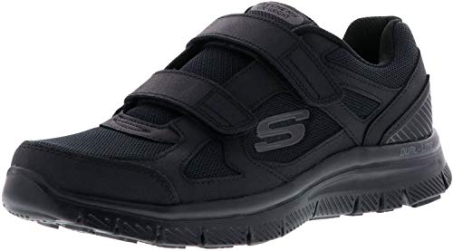 SKECHERS 58365 ESTELLO Black Black Shoes Hombre Memory Foam lagrima 43