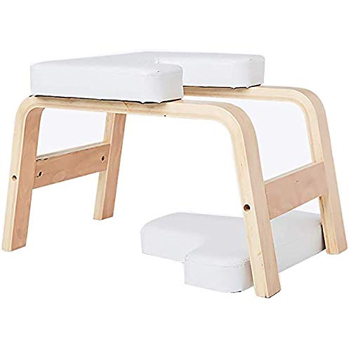 Best Buy! LISI Yoga Headstand Bench, Home Household Mini Yoga Inversion Training Bench Aids Workout ...