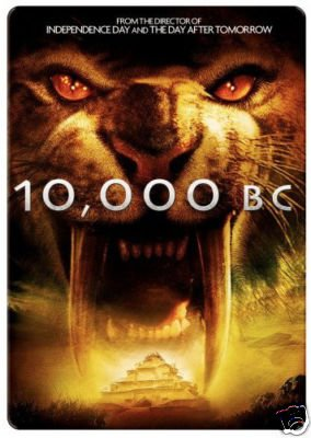 10,000 B.C. (Widescreen) (Limited Edition Exclusive Steelbook Packaging) -  DVD, Rated PG-13, Roland Emmerich