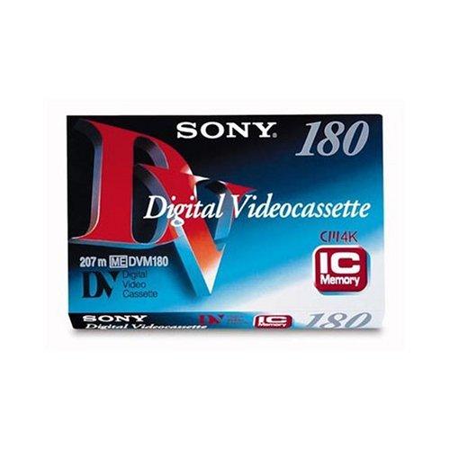 Sony Cassette/Digital Video Std 180min - Cinta de audio/video (180 min)