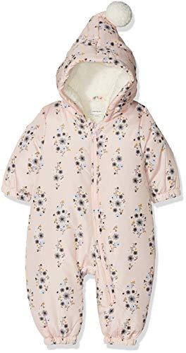 NAME IT NAME IT Baby-Mädchen NBFMIR Suit Schneeanzug, Mehrfarbig (Strawberry Cream Strawberry Cream), 50