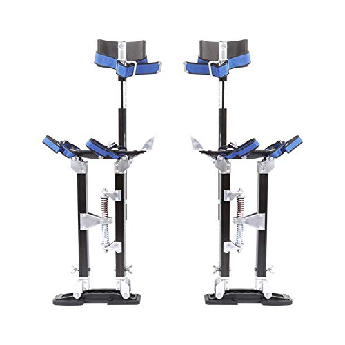 Portable Aluminium Alloy Drywall Stilts, Plaster Assistant Stilts, 24-40...