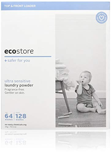 ecostore エコストア ランドリーパウダー無香料/ウルトラセンシティブ 2kg 洗濯用 粉末 洗剤