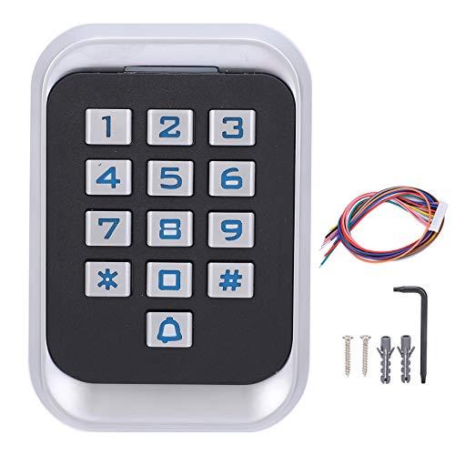 Máquina de tarjeta IC con teclado de metal con alarma anti-desmantelamiento Máquina de control de acceso de usuarios de Muiltiful para sistema de entrada de puerta Cuartos residenciales