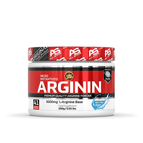 All Stars Ultra Pure L-Arginin Base Pulver, 250 g