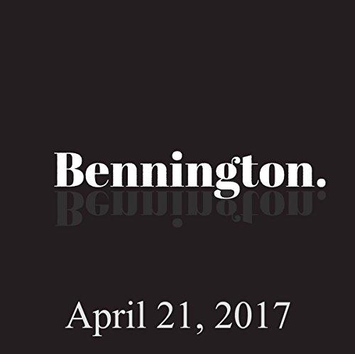 Bennington, April 21, 2017 audiobook cover art