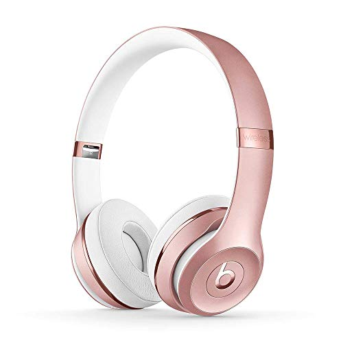 Beats Solo3 Wireless On-Ear Headphones - Rose Gold (Latest Model)