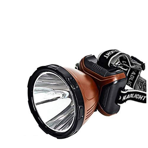 SSG Home Éclairage de Nuit Extérieur Phares Famille Camping Rechargeable LED Lampe Frontale montée sur Le Terrain étanche pêche Forte lumière Tube d'éclairage Pratique Pratique et Durable