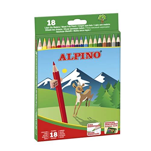 Alpino AL010656 - Estuche 18 lápices